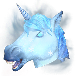 Arctic Unicorn Mask