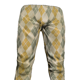 Beige Golf Pants