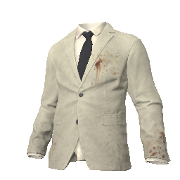 Beige Suit Jacket