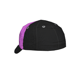 Black and Pink Backwards Cap