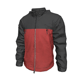 Black and Red Tactical Jacket
