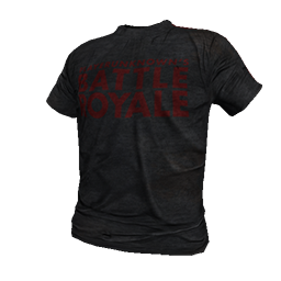 Black Battle Royale T-Shirt