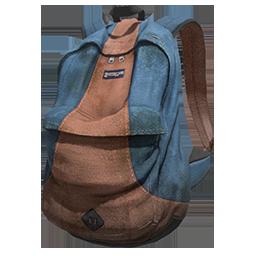 Blue and Orange Backpack