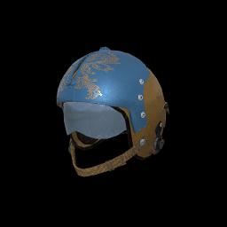 Blue Bomber Aviator Helmet