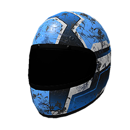 Blue Racing Helmet