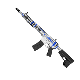 Blue Schematic AR-15