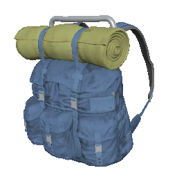 Blue Survivor Backpack