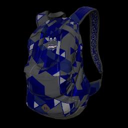 Blue Tri-Tech Backpack