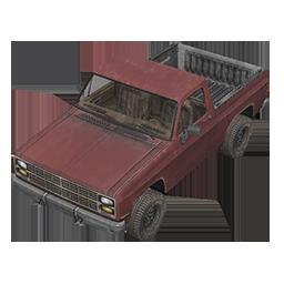 Brick Pickup Truck