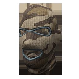 Brown Camo Ski Mask