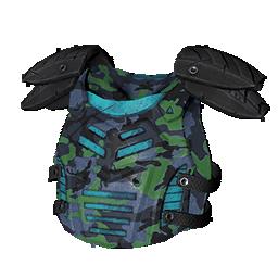 Camo Blue Armor
