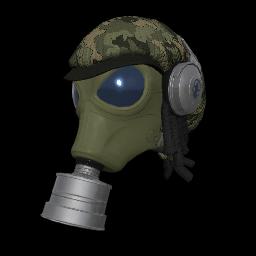 Camo Fumigator Mask
