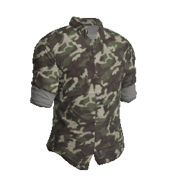 Camo Green Flannel Shirt