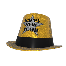 Chairman New Year's Party Hat