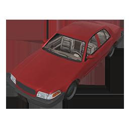 Cherry Sedan