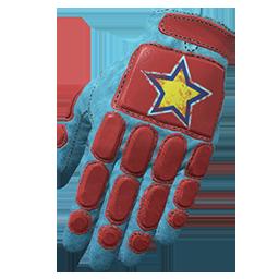 Contender Padded Gloves