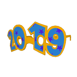 Countdown 2019 Glasses