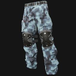 Digital Camo Padded Pants