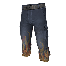 Flame Cargo Pants