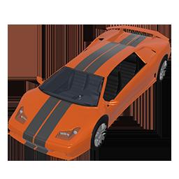 Florida Orange Racer
