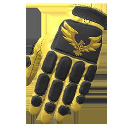 Golden Eagle Padded Gloves