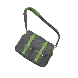 Gray and Green Military Backpack
