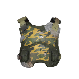 Green Camo Makeshift Armor