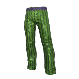 Green Striped Slacks