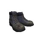 Grey Blue Work Boots