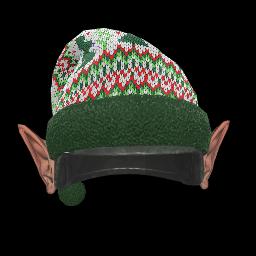 Holiday Elf Ears Helmet