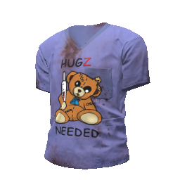 Hugz Needed Scrubs Shirt