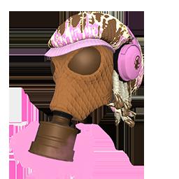 Ice Cream Cone Fumigator Mask