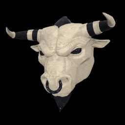 Ivory Minotaur Mask