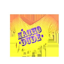 Macho Dude Halftop Shirt