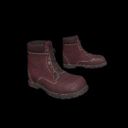 Maroon Work Boots