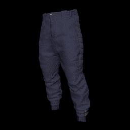 Navy Drop Crotch Pants