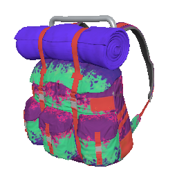 Neon Splatter Survivor Backpack