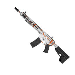 Orange Schematic AR-15