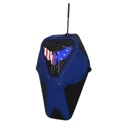 Patriotic Blue Military Backpack