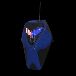 Patriotic Blue Military Backpack