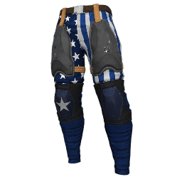 Patriotic Blue Military Pants