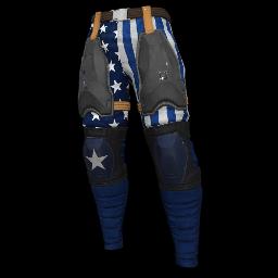 Patriotic Blue Military Pants