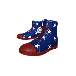 Patriotic Conveys Sneakers
