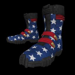 Patriotic Stars Combat Boots