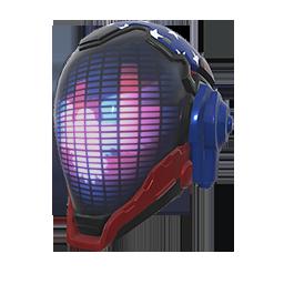Patriotic Stars Helmet