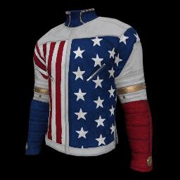 Patriotic Stars Military Shirt