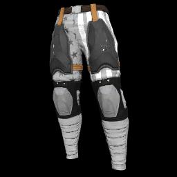 Patriotic White Military Pants