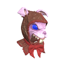 Pink Rabbit Mask