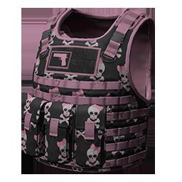 Pink Skull Body Armor