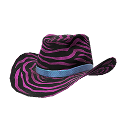 Pink Zebra Cowboy Hat